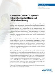 Connective Contour™ – optimale ... - Astra Tech