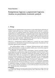 Paula Bucholc - Koło Filozoficzne przy MISH UW