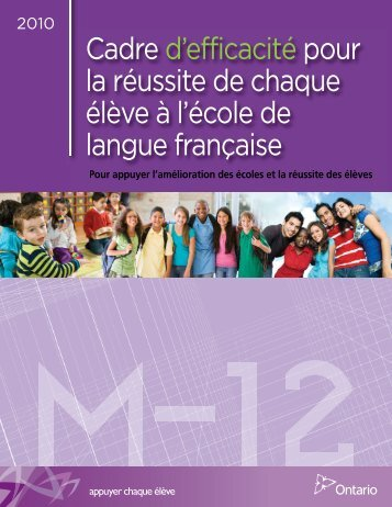 SEF french version:Layout 1 - Curriculum Services Canada