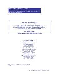 Planificación del modelo de formación - ULPGC