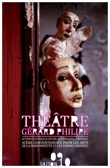 Saison 09/10 - Théâtre Gérard Philipe de Frouard
