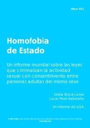Homofobia de Estado - Rojo y Negro