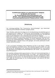 ortbildungsrichtlinie zur gutachterlichen Tätigkeit für Psychologische ...