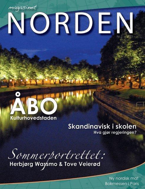 Sommerportrettet: - Forsiden - Foreningen Norden