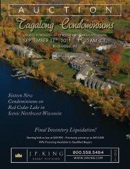 Tagalong Condominiums - J.P. King Auction Company