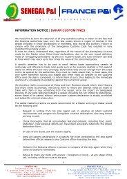 DAKAR - Custom fines - Skuld