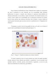1 GUÍA DE UTILIZACIÓN DIDÁCTICA Para el diseño del multimedia ...