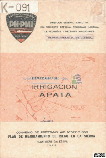 proyecto - Autoridad Nacional del Agua