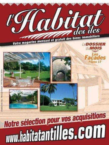 L'Habitat des îles - Mensuel Gratuit - N°9 ... - Occasion Antilles