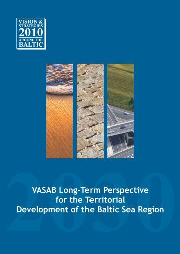 VASAB Long-Term Perspective for the Territorial Development