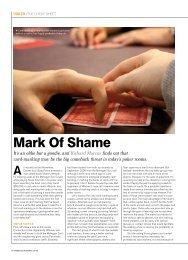 Mark Of Shame - Richard Marcus