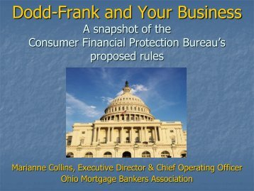 The Future of Mortgage Lending Materials - Ohio Housing Finance ...