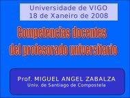Presentación - Vicerreitoría de Alumnado, Docencia e Calidade ...