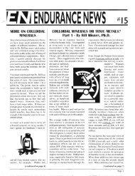 NEWS ENDURANCE - Hammer Nutrition