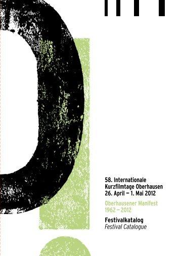 pdf zum Download - Internationale Kurzfilmtage Oberhausen