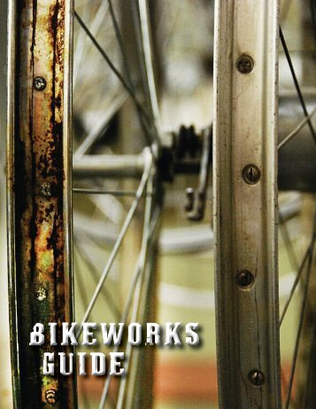 Download the BikeWorks Guide - Edmonton Bicycle Commuters