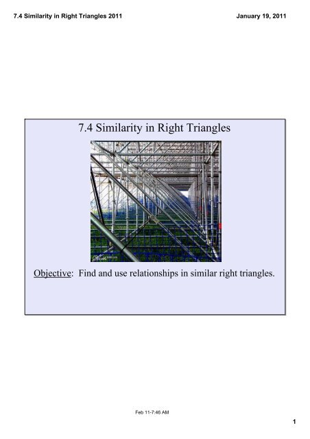 7.4 Similarity in Right Triangles 2011.pdf