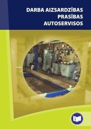 Atgādne nodarbinātajiem autoservisiem - Eiropas darba drošības un ...