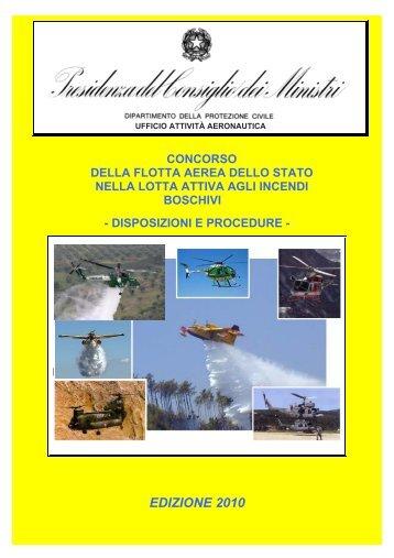 EDIZIONE 2010 - Dipartimento della Protezione Civile