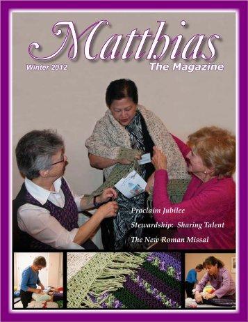 The Magazine - St. Matthias Connect