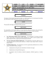 Policy 205.00 - Martin County, Florida