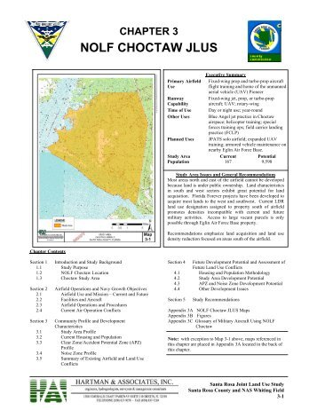 NOLF CHOCTAW JLUS - Santa Rosa County, Florida, Economic ...