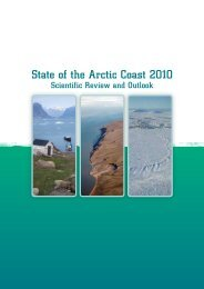 State of the Arctic Coast 2010 - International Permafrost Association ...