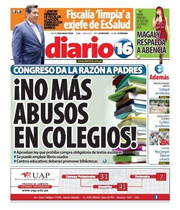 Fiscalía 'limpia' a exjefe de EsSalud - Diario16