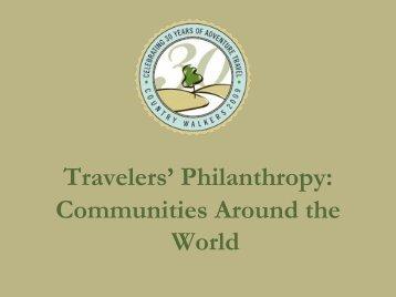 Patacancha, a Case Study - Sonya Bradley - Travelers' Philanthropy