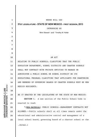 House Bill 460 - Blogs
