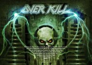 The Electric Age is the sixteenth album by Overkill ... - Hallowed.se