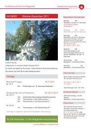 info brief oktober-dezember 2011.indd - Buddhistisches Zentrum ...