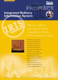 Integrated Refinery Information System