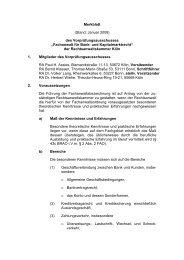 Merkblatt - Rechtsanwaltskammer Köln