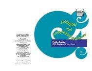 Polk Audio EX Series II Owner's Manual