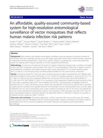 PDF - Malaria Journal