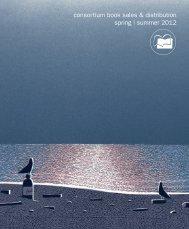 consortium book sales & distribution spring | summer 2012