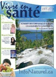 Magazine Vivre en Santé - Produit naturel