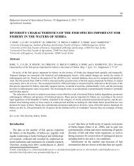 See the article as a PDF. - Bulgarian Journal of Agricultural Science