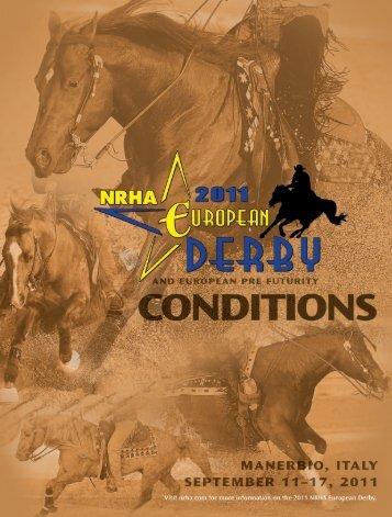 2011 nAtionAL rEining horsE AssociAtion EUroPEAn ... - NRHA