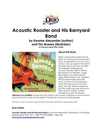 Acoustic Rooster and His Barnyard Band - ALA Annual Conference
