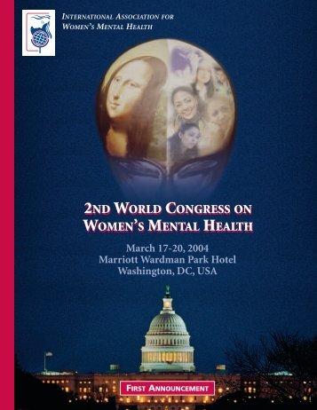 First Announcement - World Psychiatric Association