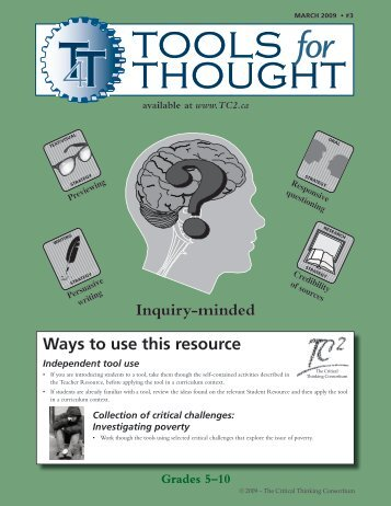 Inquiry-mindedness - The Critical Thinking Consortium