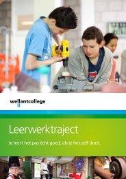 brochure over het leerwerktraject (LWT) - Wellantcollege