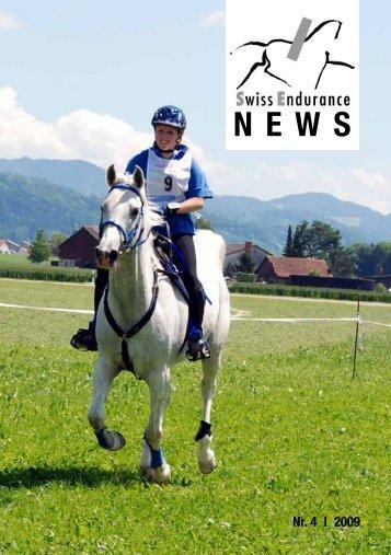 Nr. 4 | 2009 - bei swissendurance.ch!