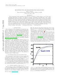 arXiv:astro-ph/0406189 v1 7 Jun 2004 - iucaa