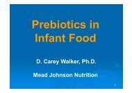 D. Carey Walker, Ph.D. Mead Johnson Nutrition