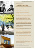 Download our 2014/15 international student ... - Lund University - Page 3