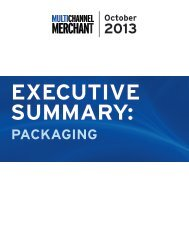 2013 PACKAGING - Multichannel Merchant