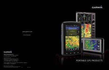 poRtAble GpS pRoductS - GARMIN - We'll take you there